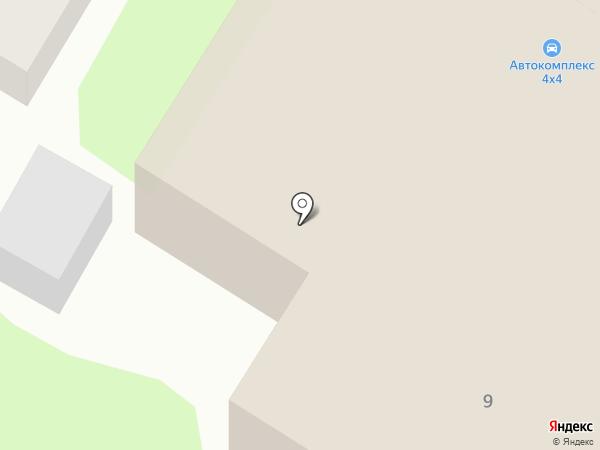 4x4 на карте Тулы