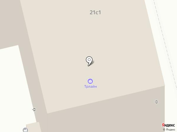 Бизнес Фарватер на карте Москвы