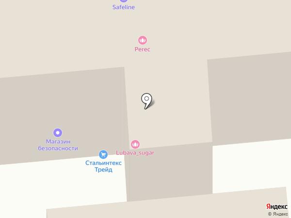 Савеловский на карте Москвы