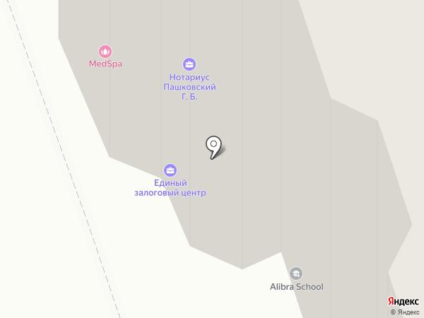 Альфа на карте Москвы