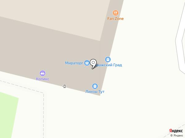 Мегаполис Капитал на карте Москвы