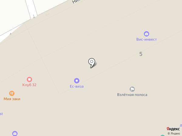 Славянский страж на карте Москвы