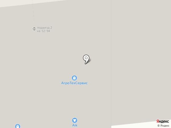 Волховец на карте Тулы