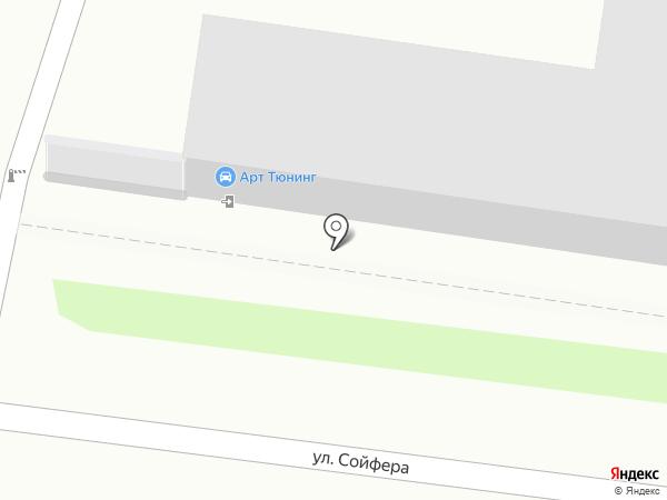 Внаружу на карте Тулы