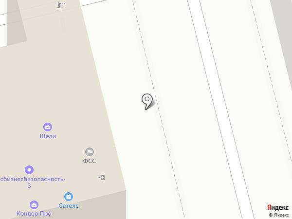 ФСС на карте Москвы