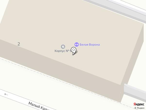 ЭвордсКрафт на карте Москвы