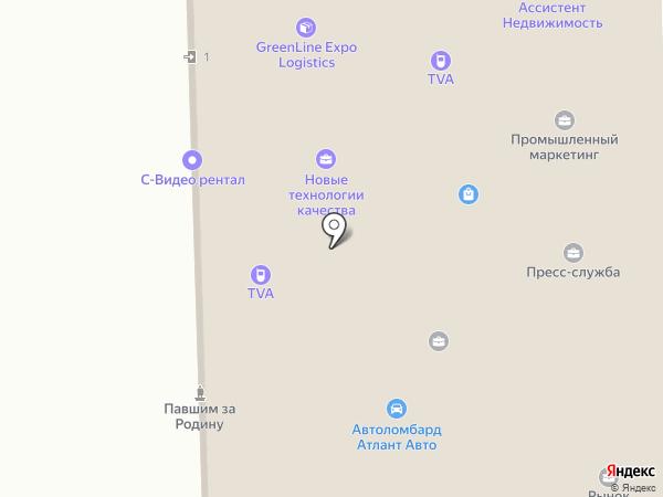 Логистика склад перевозки на карте Москвы
