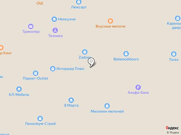 Золотой Наперсток на карте Москвы