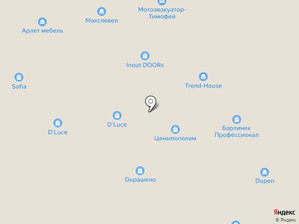 BERLUSCONI на карте Москвы