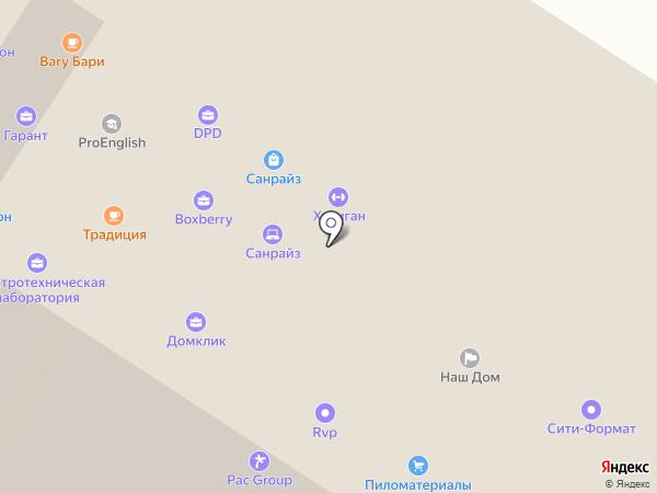 Хулиган Number One на карте Тулы