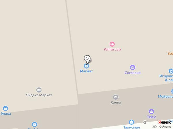Талисман на карте Тулы