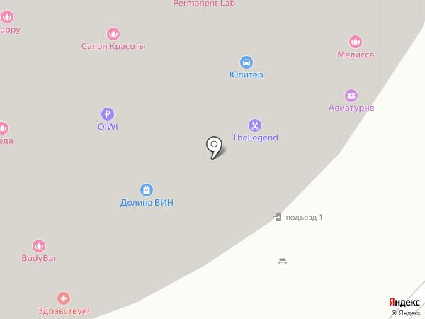 ЗДРАВствуйте на карте Москвы