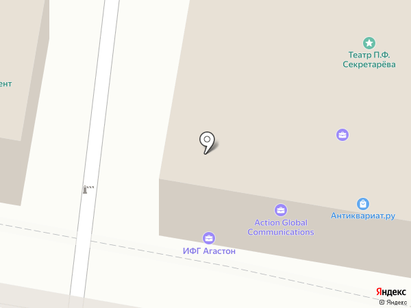 Литфонд на карте Москвы