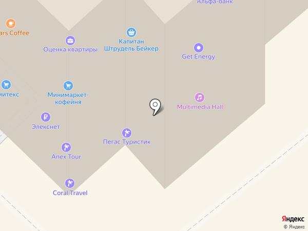 ГлавПивМаг на карте Москвы
