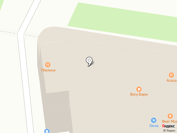 Василёк на карте Тулы