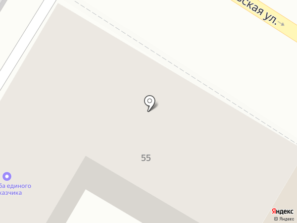 Ремжилхоз на карте Тулы