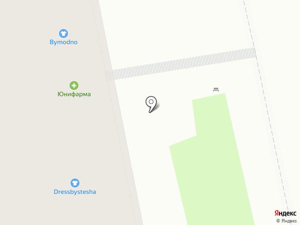Юнифарма на карте Москвы
