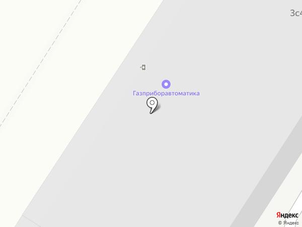 Газпром Автоматизация, ПАО на карте Москвы