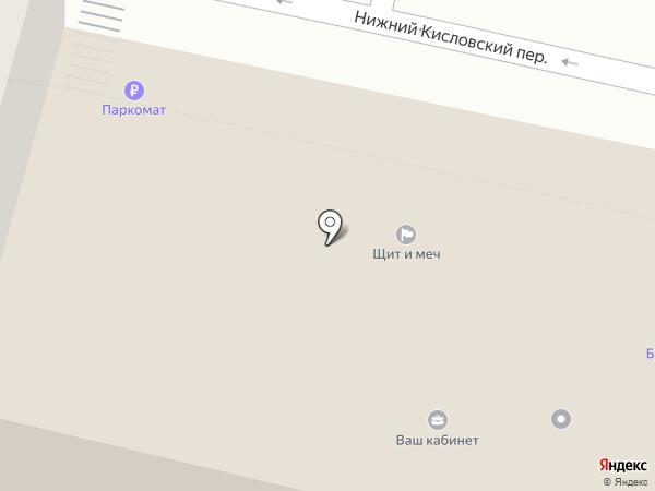 Щит и Меч на карте Москвы