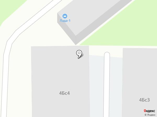 ЛАДА-1 на карте Москвы