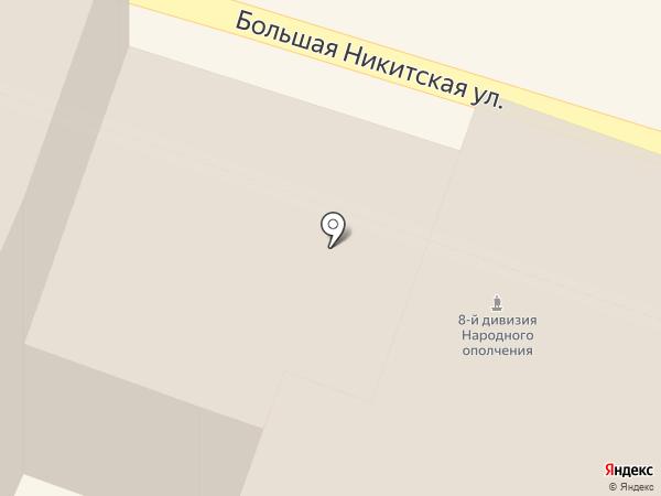 Московская государственная консерватория им. П.И. Чайковского на карте Москвы