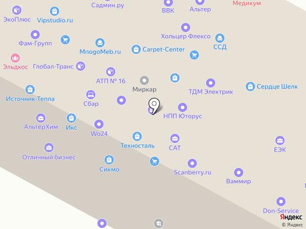 Гидроконтроль на карте Москвы