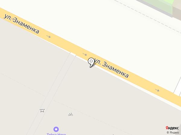 Zebra Hero на карте Москвы