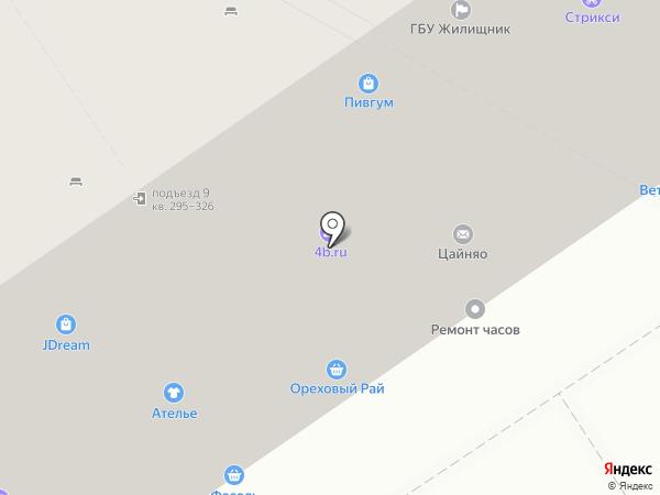 О-Оптика.РФ на карте Москвы