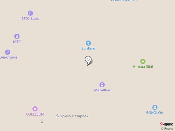 Магазин сладостей на карте Москвы