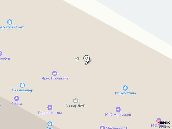 Группа Компаний Форсаж на карте Москвы