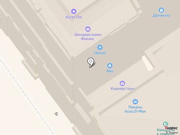 Hexcel на карте Москвы