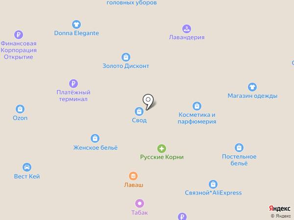 Шляпки и Шапки на карте Москвы
