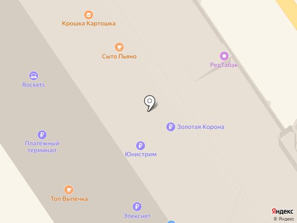Tele2 на карте Москвы