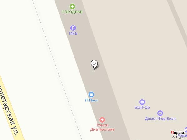 Ателье Елены Скородумовой на карте Москвы