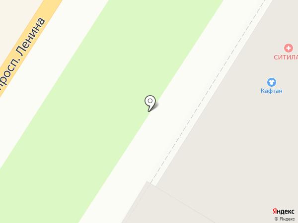 КАФТАН на карте Тулы