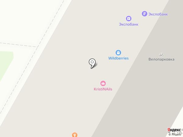 Nail Kris на карте Москвы