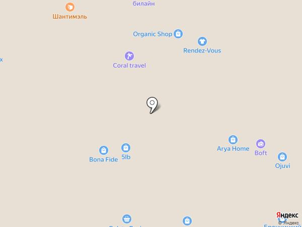 Claire`s на карте Москвы