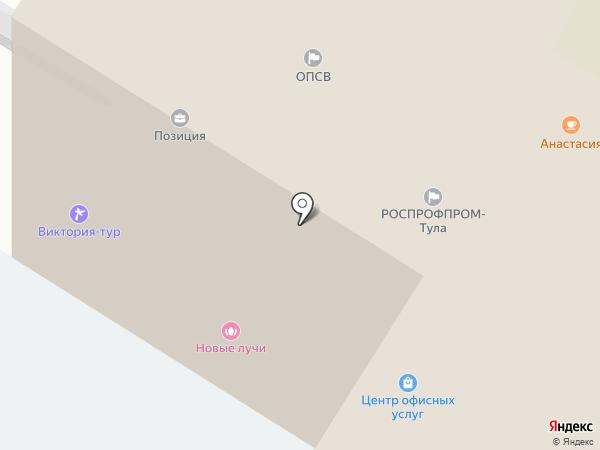 Правовая защита на карте Тулы