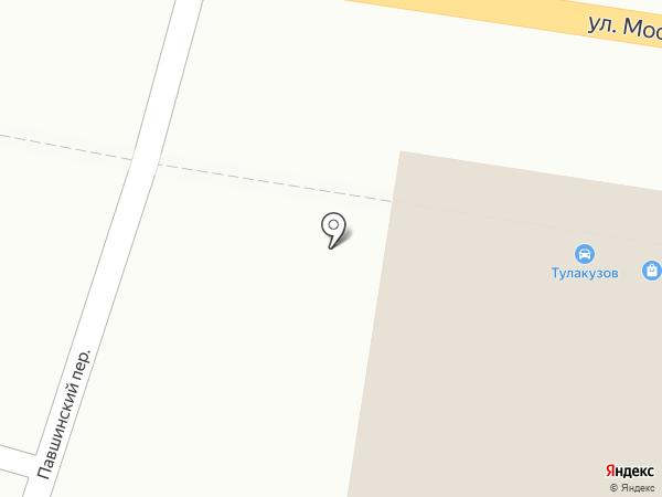 PIT STOP на карте Тулы