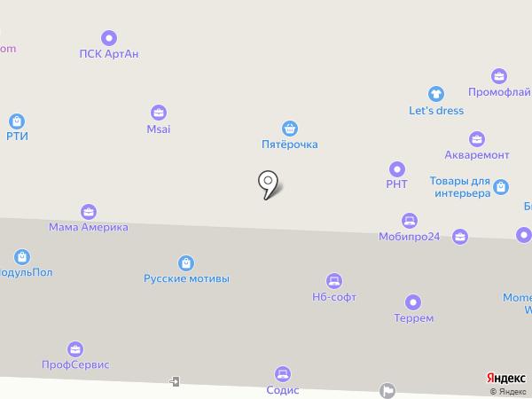 СтройВиктори на карте Москвы