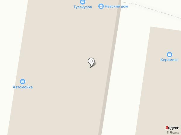 Кореана на карте Тулы
