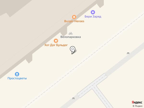 Burger Heroes на карте Москвы