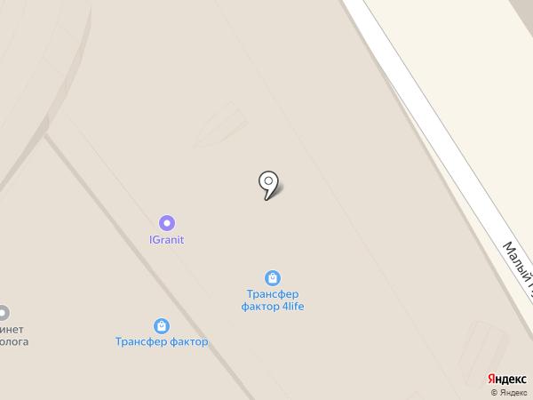 Серафима на карте Москвы