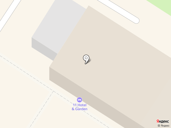11 Hotel & Garden на карте Тулы