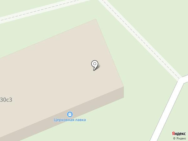 Церковная лавка на карте Москвы