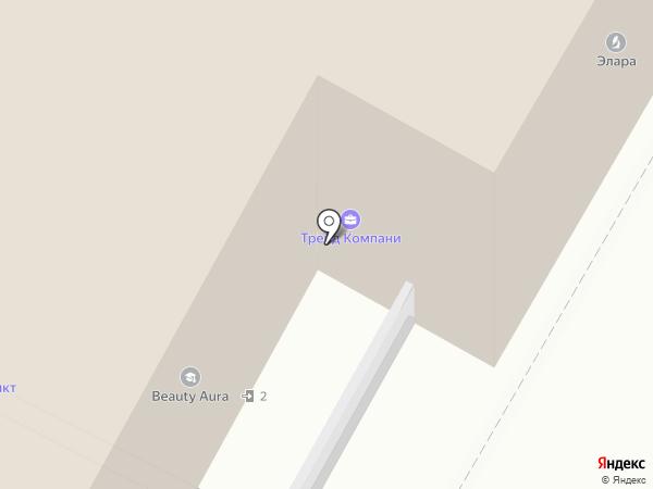 Дом у Моря на карте Москвы