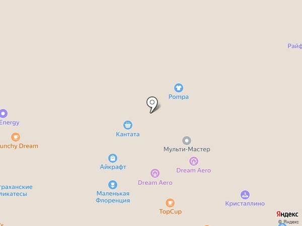 АЙКРАФТ на карте Москвы