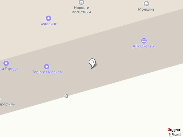 RECsquare на карте Москвы