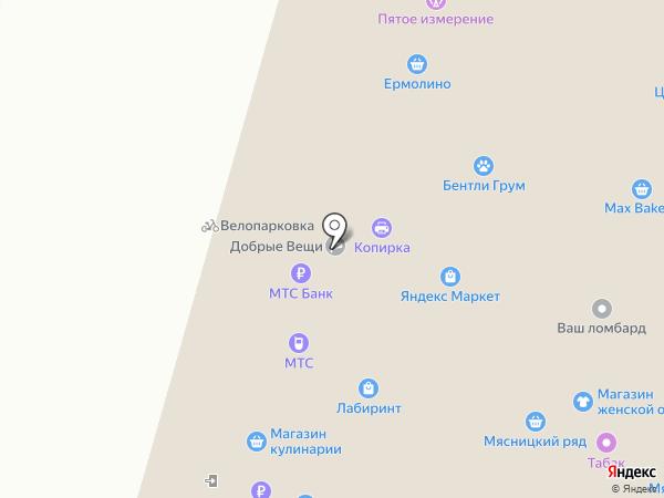 ТОПАЗ на карте Москвы