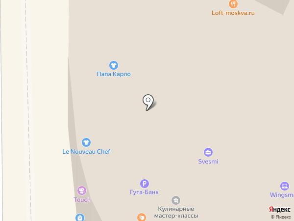 Слит-принтком на карте Москвы
